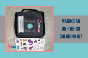 making an on-the-go coloring kit