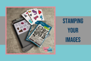 Stamping your Images for your Coloring Kit