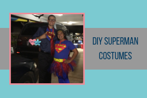 DIY Superman costumes